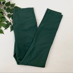 Til You Collapse TYC Green High Rise Leggings XS